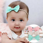 3pcs/set Infant Baby Girl Cute Bow Headband Newborn Headwear Headdress Hair Band