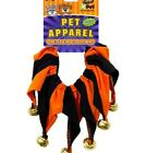 2 PACK Halloween Jester COLLAR for  Pets - Small Holiday Dog Costume Clothes