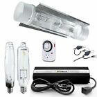 iPower 1000w HPS MH Grow Light System Kits Cool Tube Reflector Set Add-on Wing
