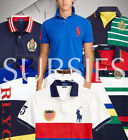 POLO RALPH LAUREN POLO SHIRTS Men's Classic & Custom Slim Fit BIG PONY RUGBY