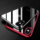 For iPhone 6S & 6 Case Shock Proof Crystal Clear Soft Silicone Gel Bumper Cover