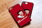 Hot! BETTY BOOP CARTOON Cute Red Hard Case Cover for iPhone And SAMSUNG $13.27 CAD on eBay