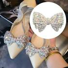 Rhinestone Crystals Wedding Bow Shoe Decoration Clips Bridal Jewelry cute