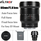 VILTROX 20mm-85mm f/1.8 Lens Wide Angle Lens Fixed Focus F1.8 for Sony FE-Mount