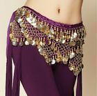 Belly Dance Wait Belt With Chains, Scarves And Coins, For Indian Hip Dance