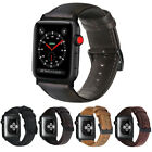 Genuine Leather Band Replacement Strap for Apple Watch 4 iWatch 38/42/40/44MM image