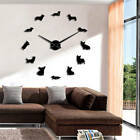 Corgi Dog DIY Large Wall Clock Giant Mirror Effect Wall Art Big Time Clock Watch