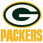 Green Bay Packers Football Decal Sticker Self Adhesive Vinyl on eBay