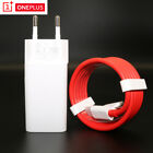 Original For Oneplus 6T 6 Dash Charger 5V Travel Wall Power Type-C Adapter Cable