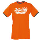 Summer T- Shirt  TEE * HIPSTER LOGO Ringer Tee * MINT size S up to XXL