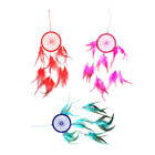 Handmade Dream Catcher Ornament Feathers Beads Car Wall Hanging Decoration Gift