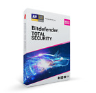 BitDefender Total Security 2021 5 Devices 1, 2 & 3 Years + Free Gift