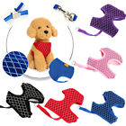Soft Mesh Small Medium Dog Harness And Leash Set Puppy Cat Pet Jacket Vest Lead