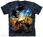 Blessings Of Peace T-Shirt by The Mountain. Native American Tee Sizes S-5XL NEW image