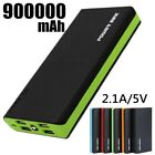 Waterproof 500000mAh Power Bank Solar Foreign Battery Charger for Cell Phone US