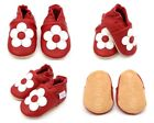 Soft Leather Baby Toddler Infant Walking Crawling Pram Shoes Non Slip Soles <br/> 0-6 months up to 4-5 years. Various Designs Available.