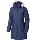Columbia Womens Size XS Snow Eclipse Mid Length Jacket Nocturnal