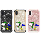 Cute Snoopy Shiny Fashion Lady New Shockproof Phone Case Cover For Apple Samsung