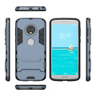 For Motorola Moto G6 / G6 Plus - Shock Proof Drop Protection Hard Back Case Slim
