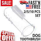 Dog Soft Finger Toothbrush Pet Dental Cleaner Teeth Care Hygiene Brush 2510PCS