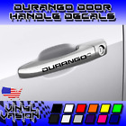 4x Durango Door Handle Decal Sticker Logo Dodge R/T SXT SRT GT Mopar Hemi $10.99 USD on eBay