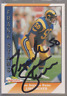 Autographed 1991 Pacific Frank Stams - Rams