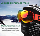 Winter Thermal Warm Scarf Ski Mask Hat Cap Face Cover Beanie Skull Hood