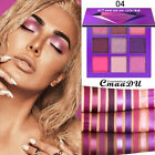 CmaaDu 9 Color Eyeshadow Palette Beauty Makeup Shimmer Matte Eye Shadow Cosmetic