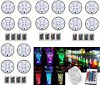 16PC Swimming Pool Light RGB LED Bulb Remote Control Underwater Color Vase Decor $14.98 USD on eBay