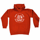 Funny Kids Childrens Hoodie Hoody - Still Plays With Tractors