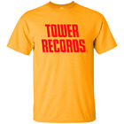 Tower Records, Music, Store, Chain, Retro, Rock N Roll, distressed, T-shirt image