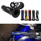 "For Kawasaki Ninja 250R 500R ZX-6R 10R Z1000 Rubber Hand Grips 7/8"" 1"" 6 Color M $12.55 USD on eBay"