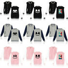DJ Marshmello Men Women Baseball Jacket Sport Coat Hoodie Uniform Sweatshirt
