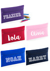 Personalised Childs Pencil Case Kids Office Stationery Quadra Zip School Bag
