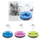 Interactive Cat Ball Toy Exerciser Game with Ball Bell and Teaser Mouse Toy