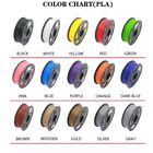 10M/30M Premium 3D Printer Filament 1.75mm PLA Drawing Print MakerBot 30 Colors