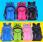 Boys Girls Kid Plain Backpack Rucksack School College Travel Laptop Bag Foldable