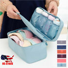 Внешний вид - Portable Travel Protect Bra Underwear Lingerie Case Organizer Bra Storage Bag