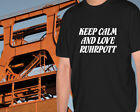 "Shirt ""Keep Calm and Love Ruhrpott"",Pott,Steiger,Ruhrpott,Zeche,Kohle,Bergbau"