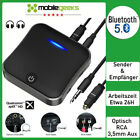 Bluetooth 5.0 Audio Transmitter Empfänger Musik Stereo Adapter Sender Receiver
