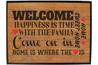 Funny Doormat Novelty Door Mat Birthday Home Office - welcome-happieness