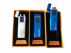 LIGHTER THE PLASMA LIGHTER DOUBLE BOW TOUCH RICARICAMBILE WINDPROOF AUTO