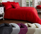Vincenza Jacquard LUXURY Duvet/Quilt Cover Bedding Set With Matching Pillow Case