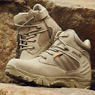 Desert Delta Force Military Boots Tactical Airsoft Hunting Outdoor Army Tan MEN~