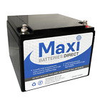 MAXIPOWER 12V 26AH/24AH  27 HOLE DEEP CYCLE BATTERY for ALL ELECTRIC GOLF CARTS
