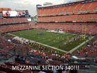 2 PITTSBURGH STEELERS @ vs CLEVELAND BROWNS 2019 - MEZZANINE CORNER SECT 340! on eBay