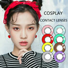 Cosplay Color Contact Lenses Cosmetic Eye Makeup Lens Honey Series Soft 1 Year