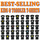 Kids Tshirt Funny Childrens Toddlers Tee Top T-Shirt SUPER VARIOUS DESIGNS BK30