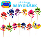 BABY SHARK CUPCAKE CAKE TOPPER CUP decoration supplies party balloon pinkfong