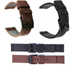22 Luxury Leather Band Strap For Samsung Galaxy Watch 46mm/Moto 360 2nd Gen 46mm image